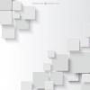 White background in geometric style - Иллюстрации -