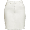 White denim skirt - Krila -