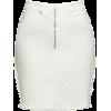White denim skirt - Saias -