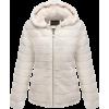 White faux fur coat - Jacket - coats - £50.99  ~ $67.09
