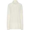 White sweater - プルオーバー -