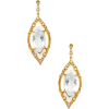 White topaz earrings - Ohrringe -