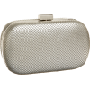 Whiting & Davis 1-5721 Minaudiere Satin Silver - Bag - $130.00