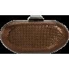 Whiting & Davis Bean Minaudiere 1-5801 Clutch Bronze - Clutch bags - $127.48