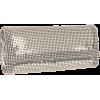 Whiting & Davis Crystal Edged Clutch Silver - Clutch bags - $118.38