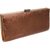 Whiting & Davis Dallas Clutch Bronze - Torby z klamrą - $91.98  ~ 79.00€
