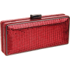 Whiting & Davis London Minaudiere Clutch Red - Clutch bags - $85.96