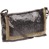 Whiting & Davis The Edge Cross Body Gunmetal - Bag - $165.00
