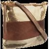 Whiting & Davis Women's Tri Color 1-8866BKMT Hobo Gold Multi - Backpacks - $128.00