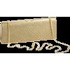 Whiting and Davis Bubble Mesh Clutch Matte Gold - Torby z klamrą - $330.00  ~ 283.43€