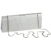 Whiting and Davis Bubble Mesh Clutch Satin Silver - Clutch bags - $314.00