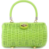 Wicker Baguette Purse by Pinup Couture - Hand bag -