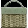 Wicker Wings Sage Kuai Top Handle Bag - Hand bag -