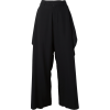 Wide Leg Trousers - Capri & Cropped - $227.00  ~ ¥25,548