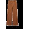 Wide-leg Corduroy Pants - Jeans -
