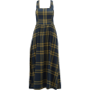 Willa crossed-back checked cotton dress - Long sleeves shirts -