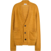 Wolf & Badger yellow cardigan - Cardigan -