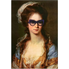 'Woman With Shades'print Urbanoutfitters - Illustrations -