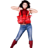 Woman Red - People -