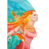 Woman watercolour (mermaid) - Illustrations -