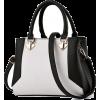 Women Dual Color Combo Fresh Faux-Leathe - Clutch bags -