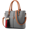 Women High Quality Faux-Leather Bag with - Hand bag -