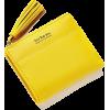 Women PU Leather Short Wallet Tassel Fas - Wallets -