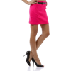 Womens Casual Party Versatile Belted Fitted Pencil Mini Skirt - Skirts - $29.99  ~ £22.79
