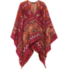 Wool And Cotton-Blend Poncho - Etro | My - Westen -