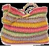 Woven Multicolor Bag - Hand bag -