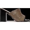 Woven raffia mules - Classic shoes & Pumps -