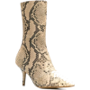 YEEZY snake pattern boots - Boots -