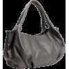 YELENA Everyday Top Double Handle Bowler Hobo Shoulder Bag Shopper Tote Satchel Handbag Purse Grey - Hand bag - $27.50