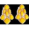 YELLOW EARRINGS - Earrings -