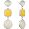 YELLOW EARRINGS - Uhani -