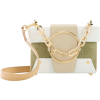 YUZEFI Asher Leather And Suede Bag - Hand bag -