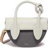 YUZEFI 'DOLORES' KNOT HANDLE LEATHER CRO - Messenger bags - $655.00
