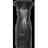YVES SAINT-LAURENT leather dress - Haljine -