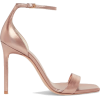 YVES SAINT-LAURENT metallic sandal - Sandale -