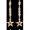YVONNE LEON diamond & ruby earrings - Earrings -