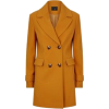 Yellow Coat - Jacket - coats -