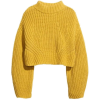 Yellow. Pullover - Pullovers -