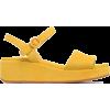 Yellow Sandals - Sandalias -