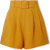 Yellow Shorts - Shorts -