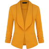Yellow blazer - Kurtka -