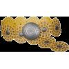 Yellow  disc belt - Gürtel -