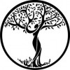 Yoga Tree in Black - Other -