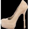 Ysl Beige Tribute Pumps - Classic shoes & Pumps -