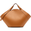 Yuzefi Basket Leather Tote - Messenger bags -