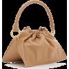 Yuzefi Bom Leather Top Handle Bag - Hand bag -